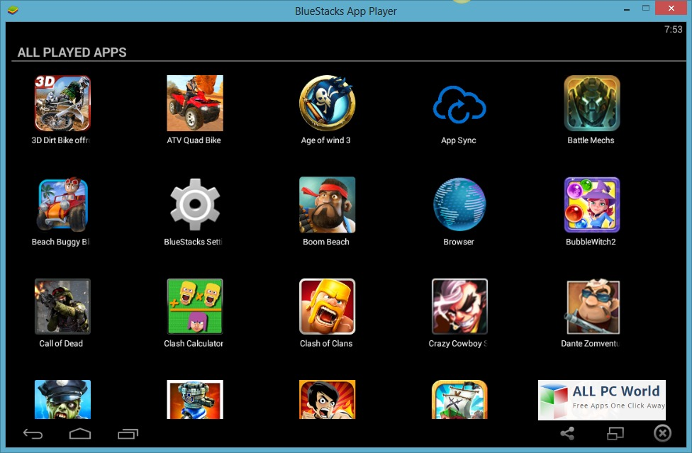 android apps player for pc free download