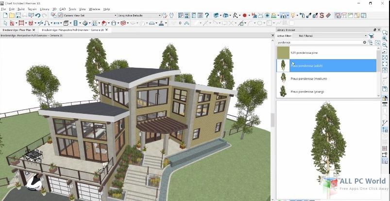 Chief Architect Premier X8 User Interface