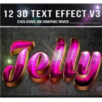Graphicriver12 3D Text Effect v4 Free Download