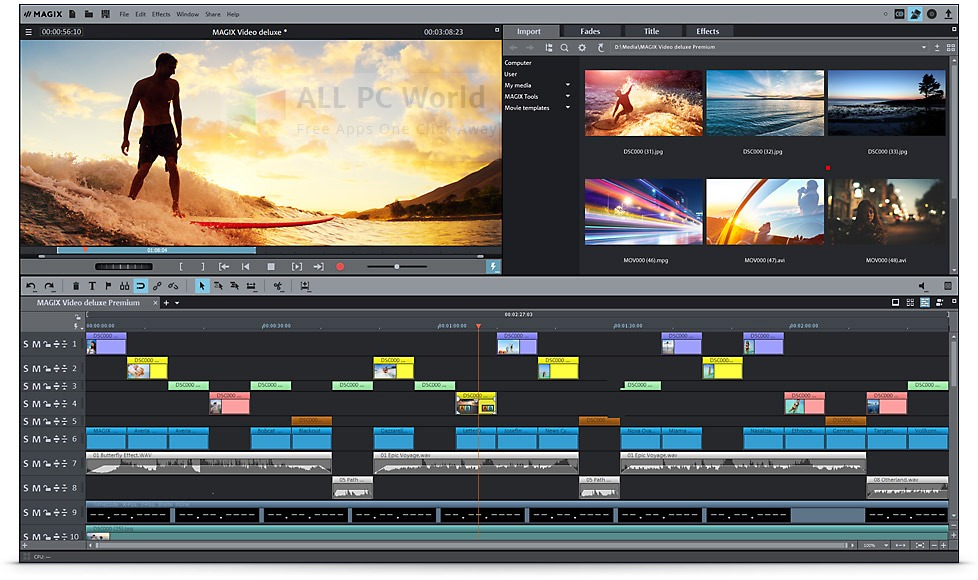 MAGIX Movie Edit Pro 2015 Premium Review