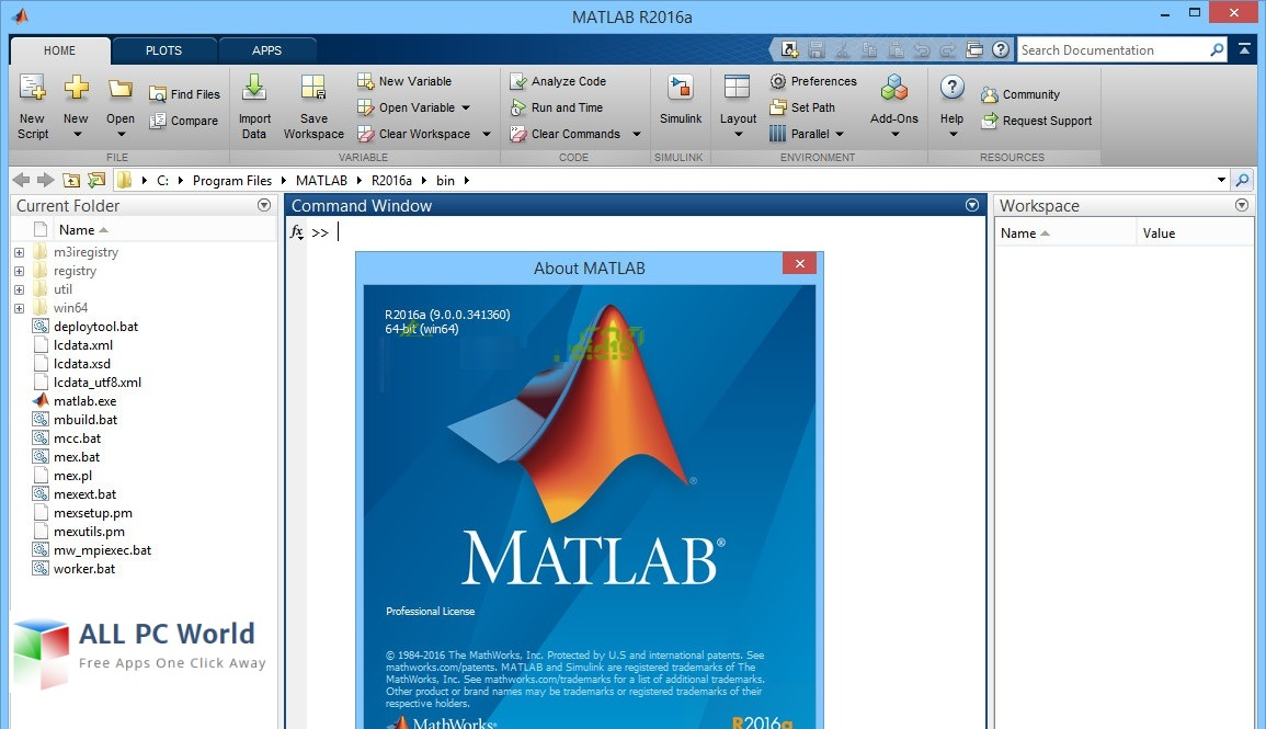 Download MathWorks MATLAB R2016a Free - ALL PC World