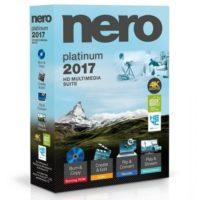 Nero 2017 Platinum 18.0.08400 Multilingual Free Download