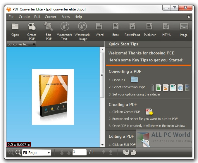 Download PDF Converter Elite 5 Free - ALL PC World