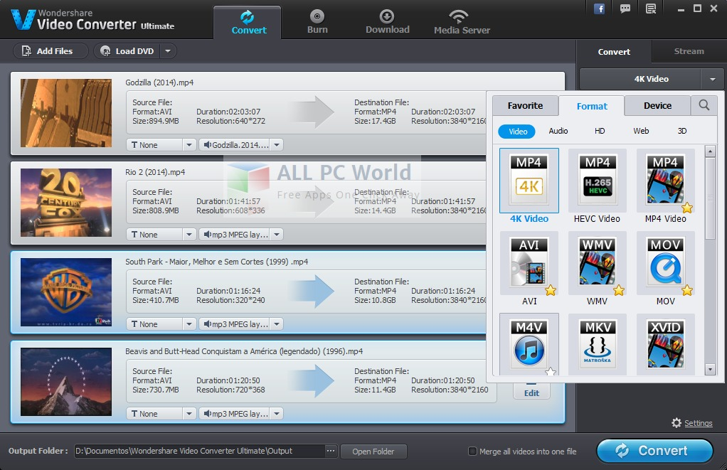 download wondershare video converter full version