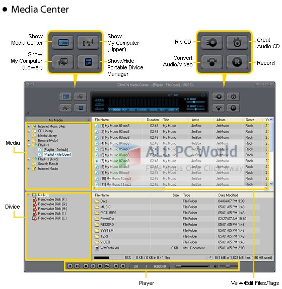 Cowon jetAudio v8.1.5.10314 Plus VX Review