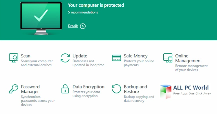Kaspersky Internet Security 2017 Free Download - ALL PC World