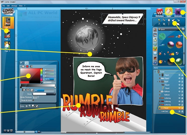 Summitsoft Comic Creator 1.0.6.0 Review
