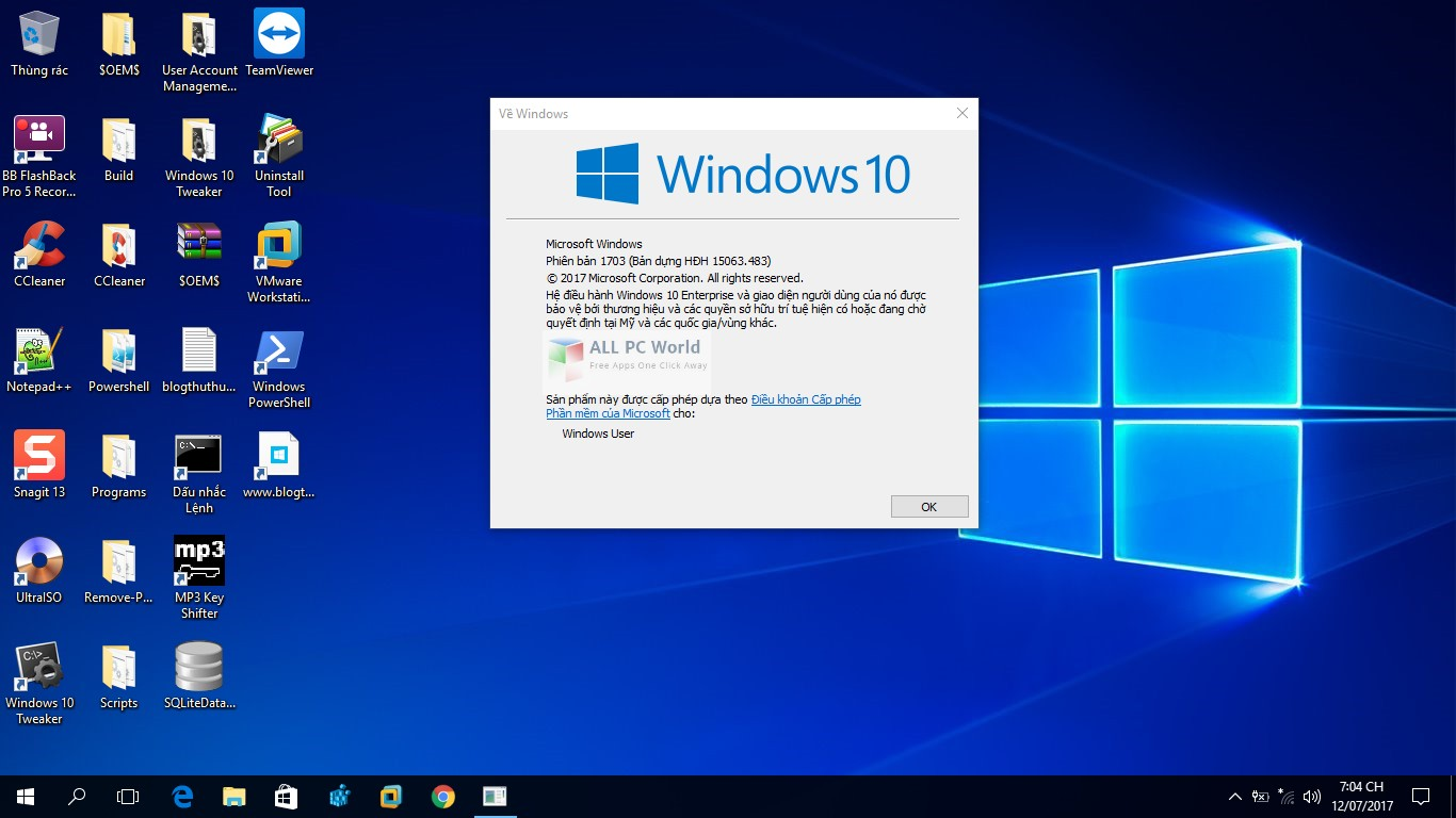 windows 10 pro lite x64