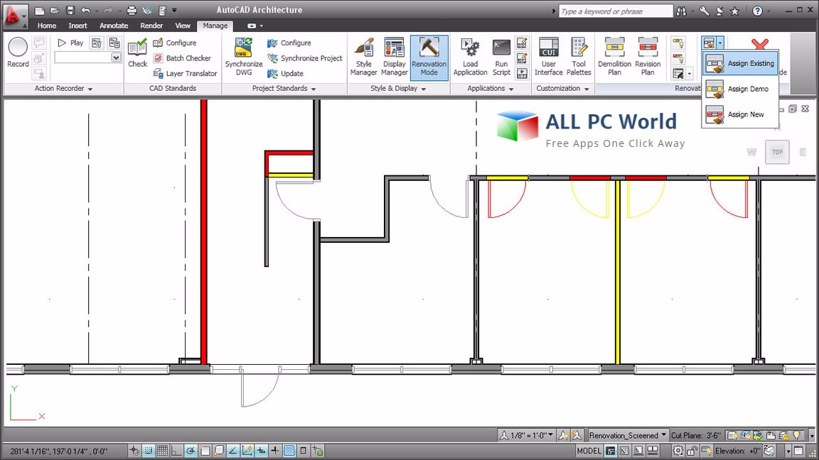 Download AutoCAD Architecture 2018 Free - ALL PC World