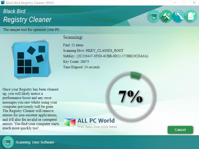 Black Bird Registry Cleaner Pro Review