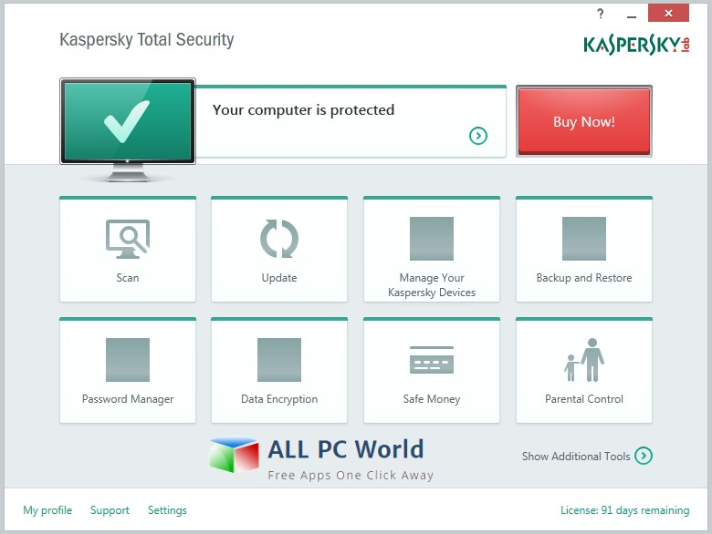 Kaspersky Total Security 2018 Review