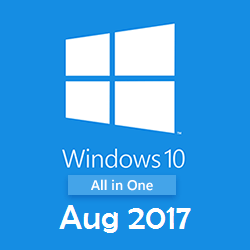 Windows 10 AIO Build 15063.540 x64 Aug 2017 Free Download