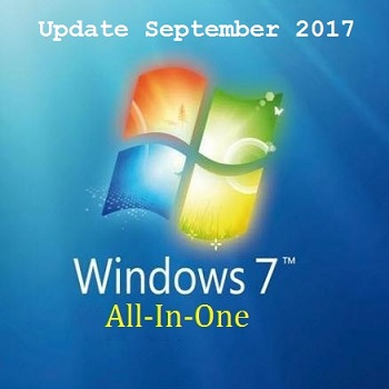 Windows 7 AIO DVD ISO Sep 2017 Free Download
