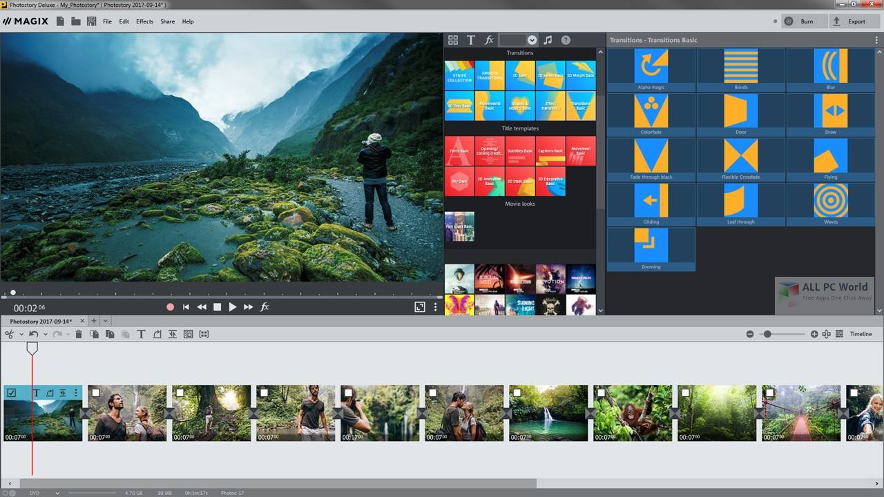 magix photostory deluxe 2018 review