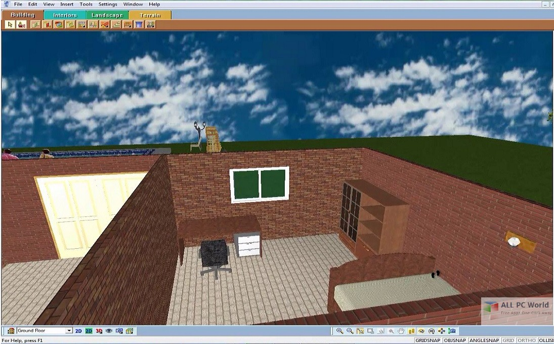 3d home architect design deluxe 8. 3D Home Architect Design Suite Deluxe 8 Review Download Free  ALL PC World