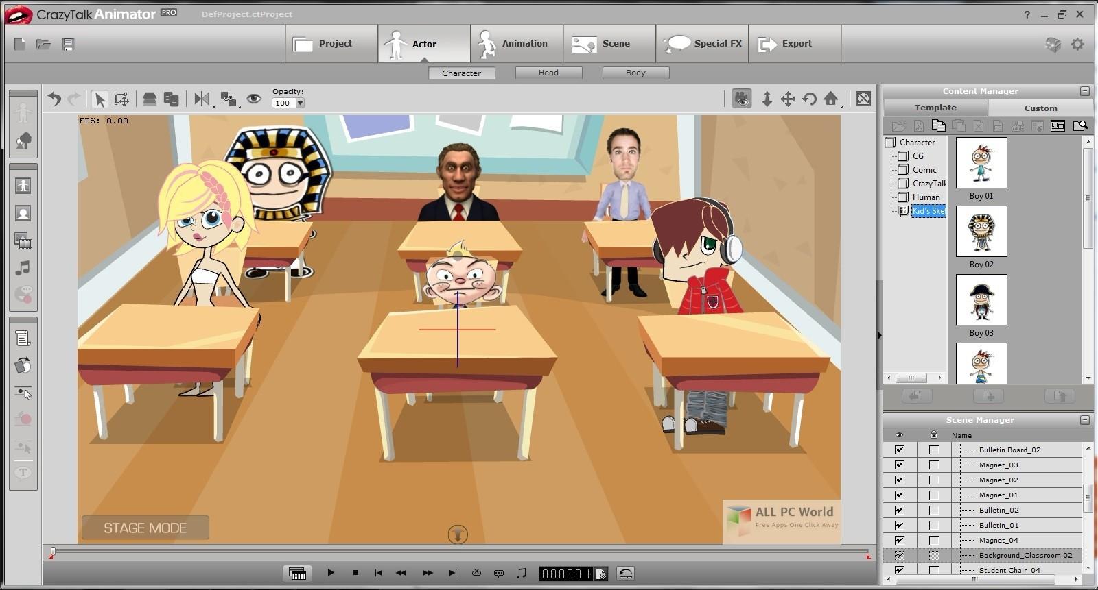Download Reallusion CrazyTalk Animator 3 22 Free - ALL PC World