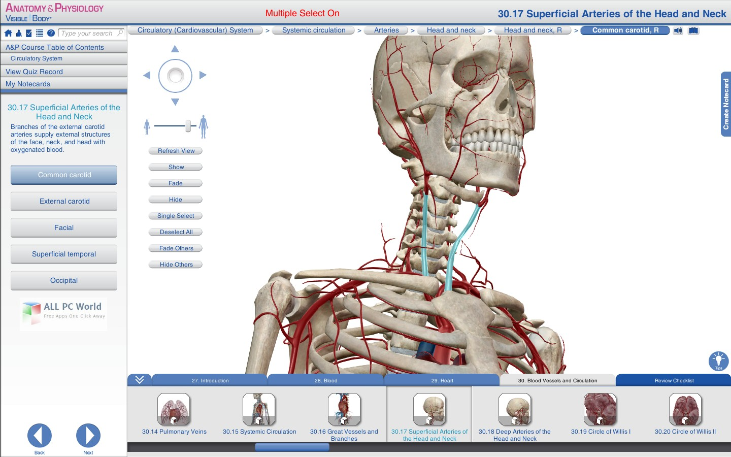 Visible Body Anatomy and Physiology 1.5 Review - ALL PC World