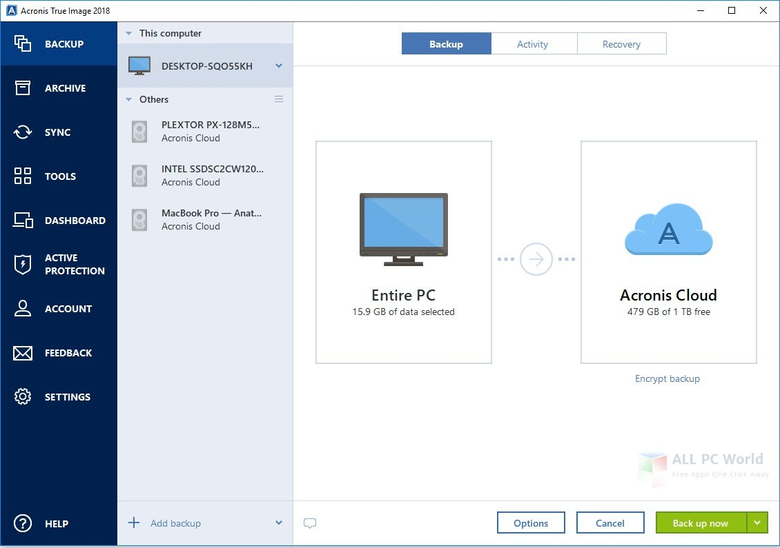 Download Acronis True Image 2018