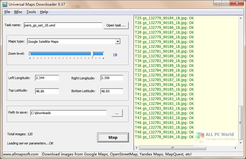Download Universal Maps Downloader 9.3