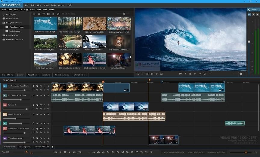 MAGIX VEGAS Pro 15.0 Review