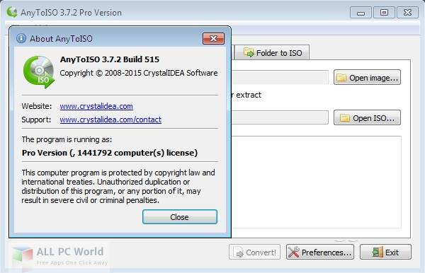 Download AnyToISO 3.7 Free