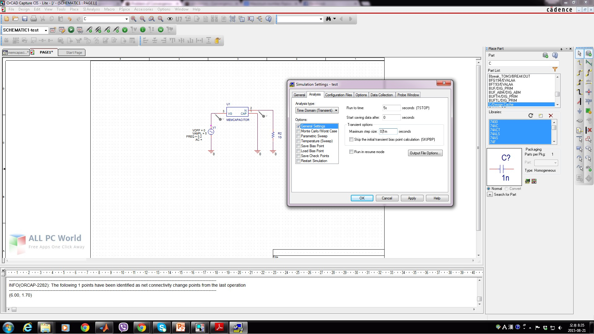 Download Cadence OrCAD 16 6 Free - ALL PC World
