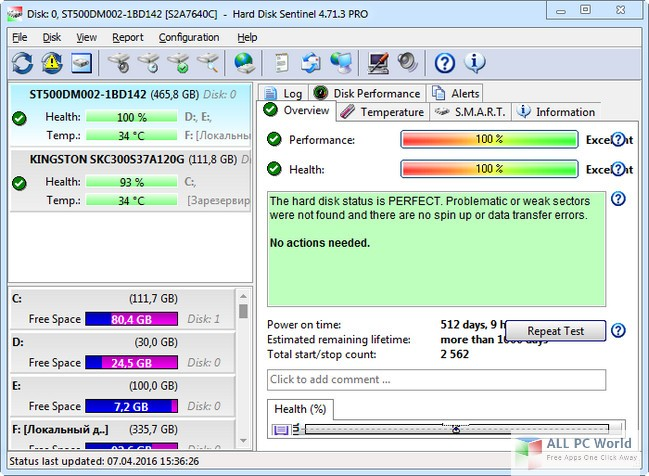 Download Hard Disk Sentinel Professional 5.2 Free