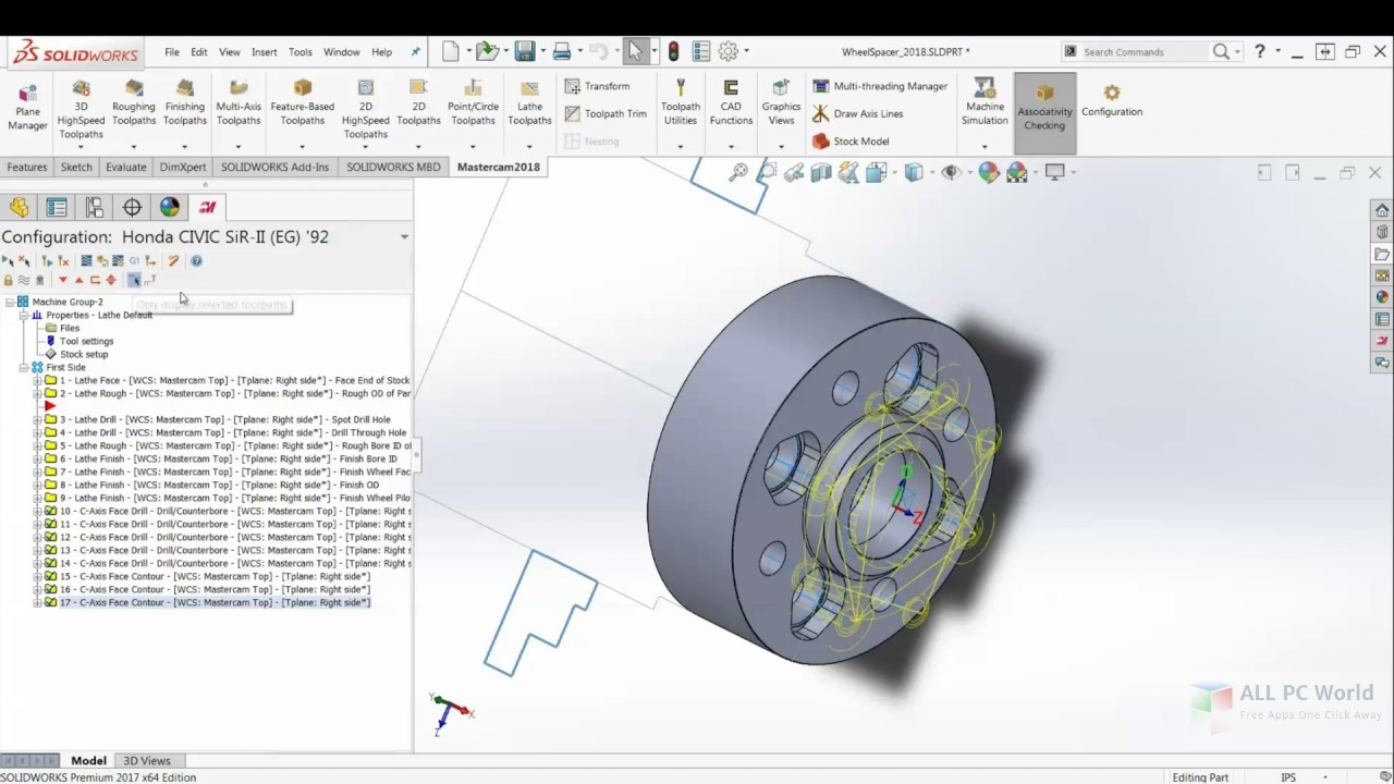 Download Mastercam 2018 For SolidWorks Free