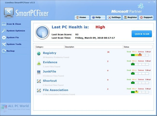 Download SmartPCFixer 5.5 Free