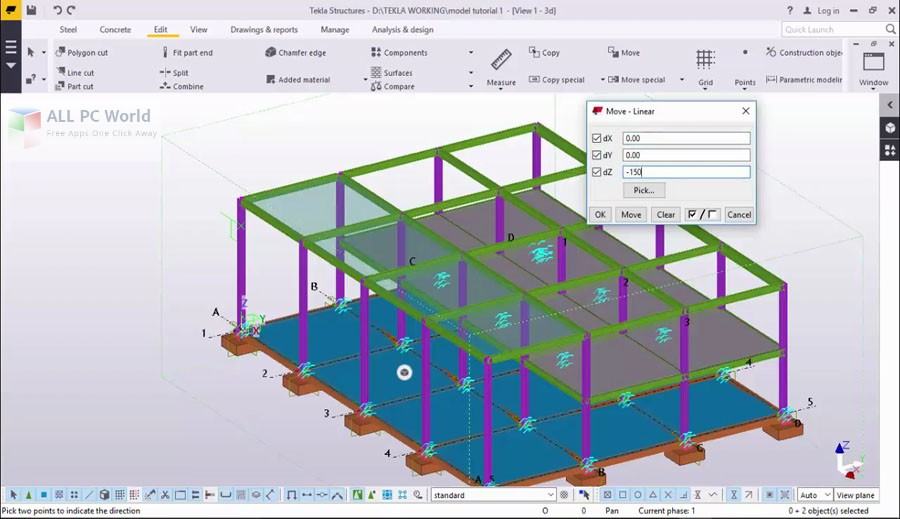 Download Tekla Structures 2018 Free