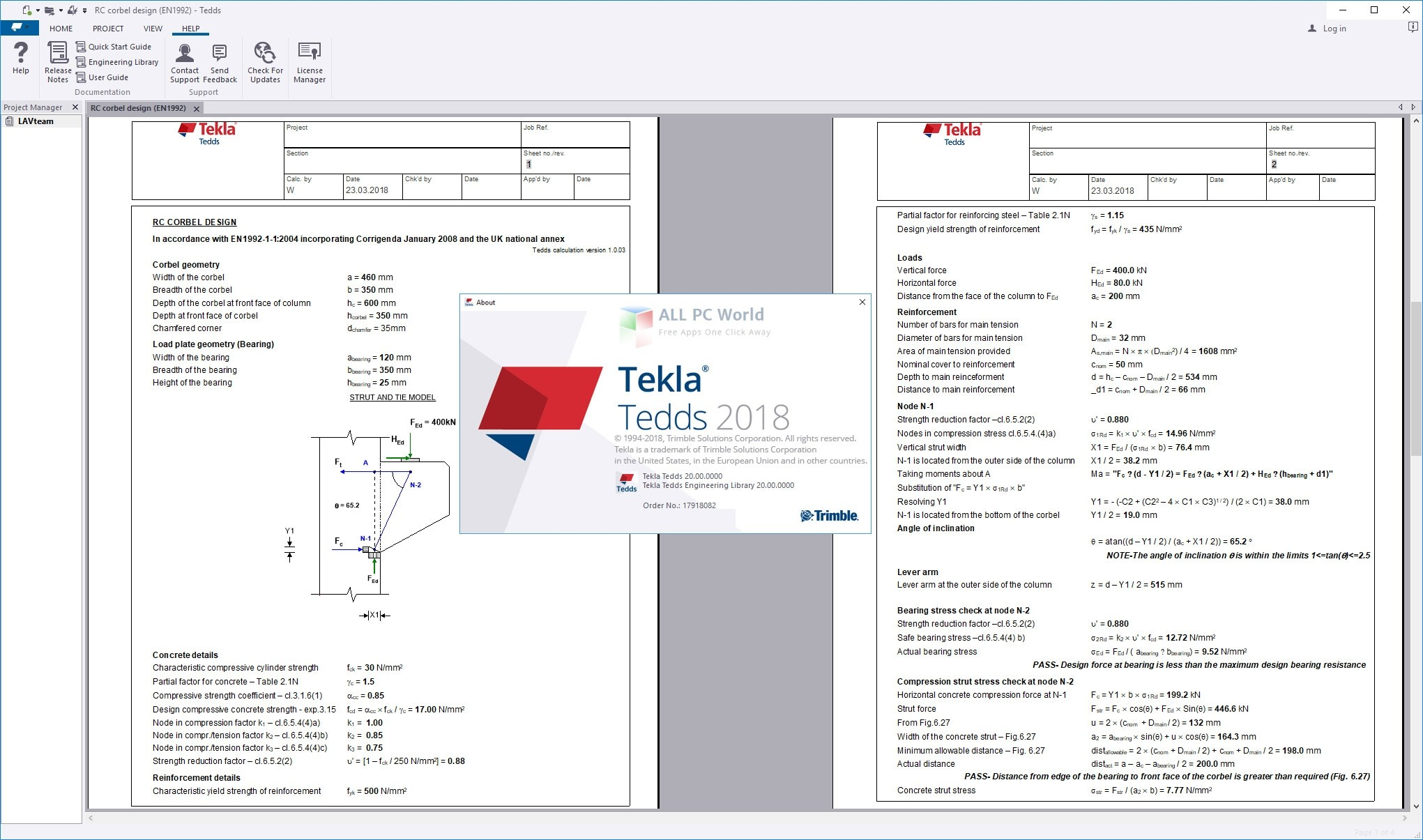 Download Trimble Tekla Tedds 2018