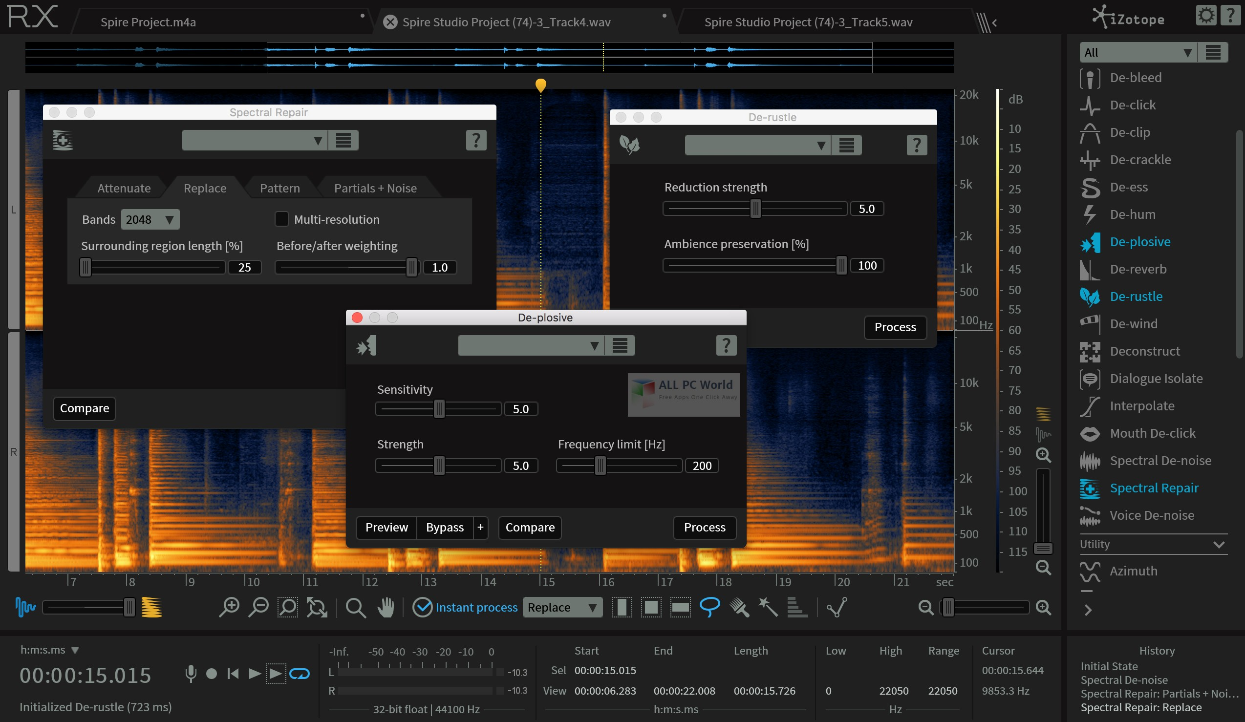 Download iZotope RX 6 Advanced Audio Editor Free - ALL PC World