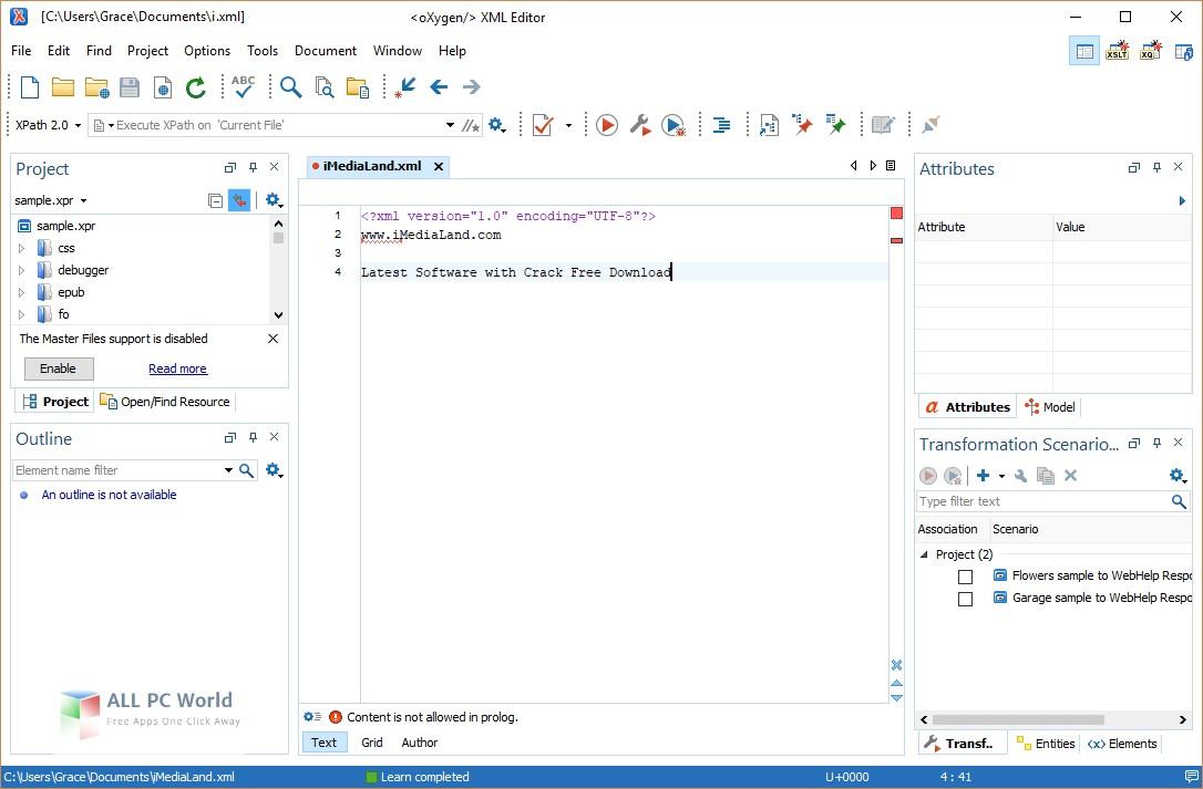 Download oXygen XML Editor 20 0 Free - ALL PC World