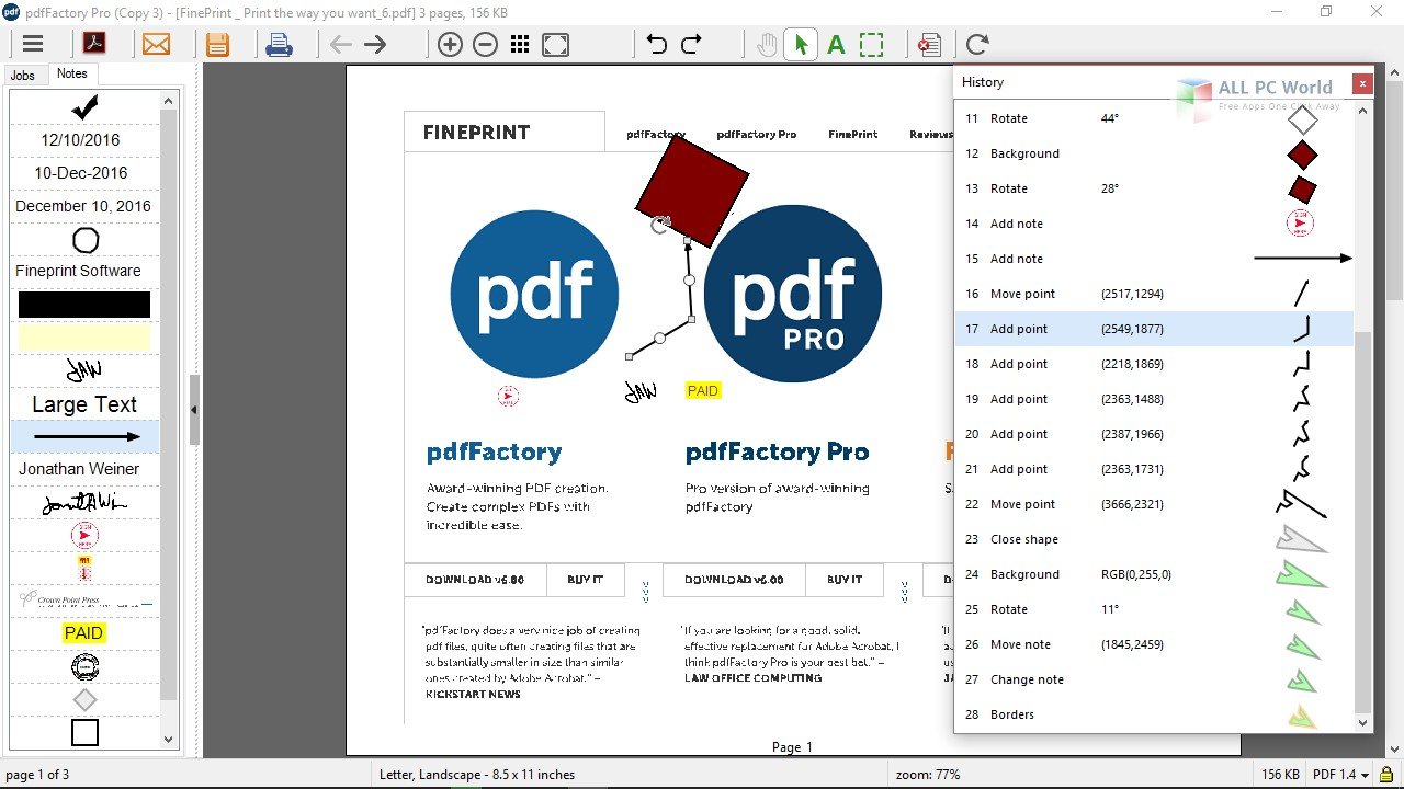 Pdffactory download.