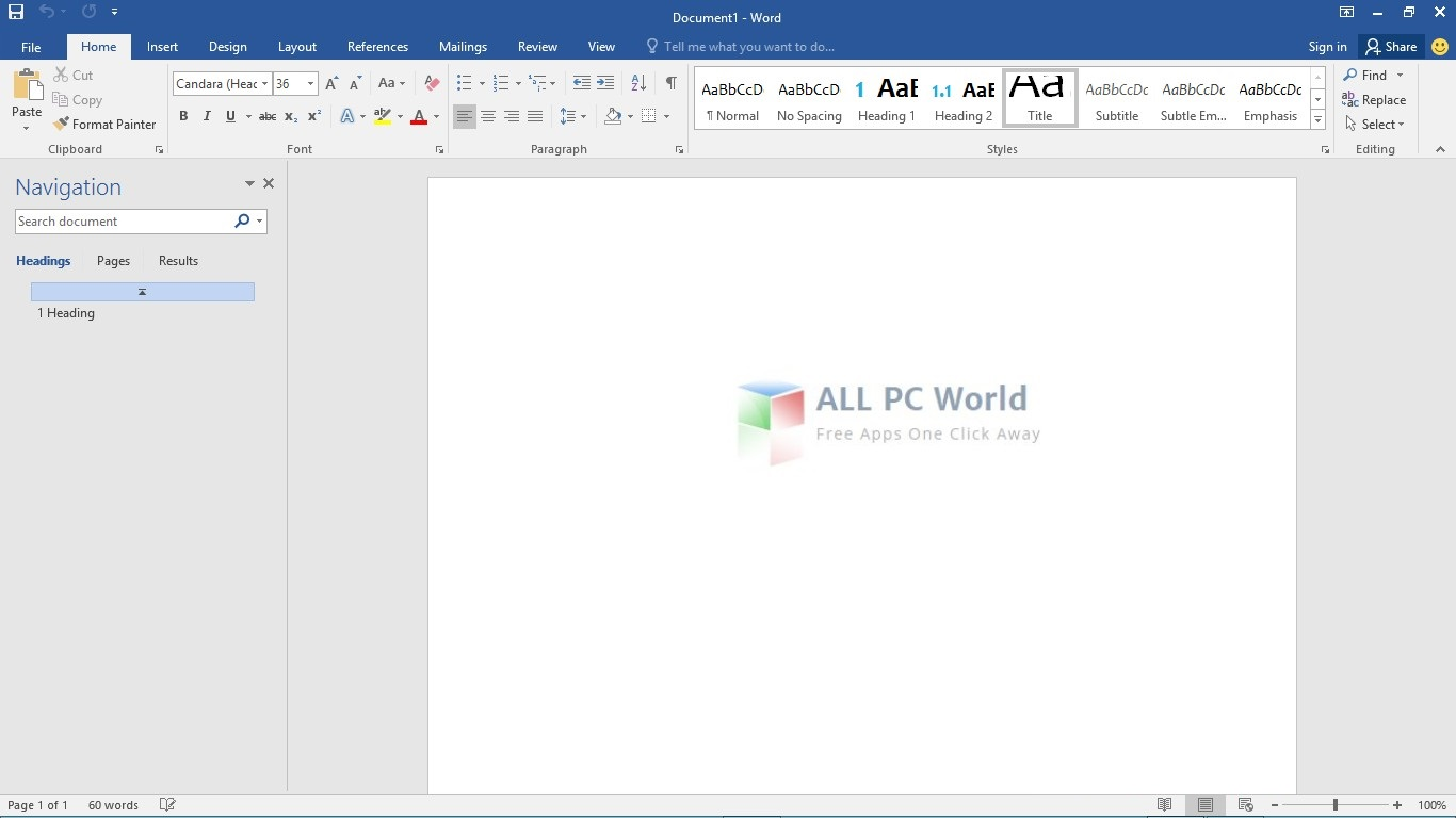 free download of microsoft office 2018