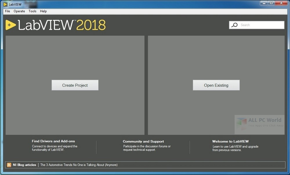 Download NI LabVIEW 2018 Free - ALL PC World