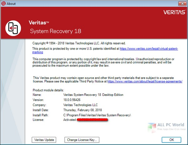 Download Veritas System Recovery V18.0 Free