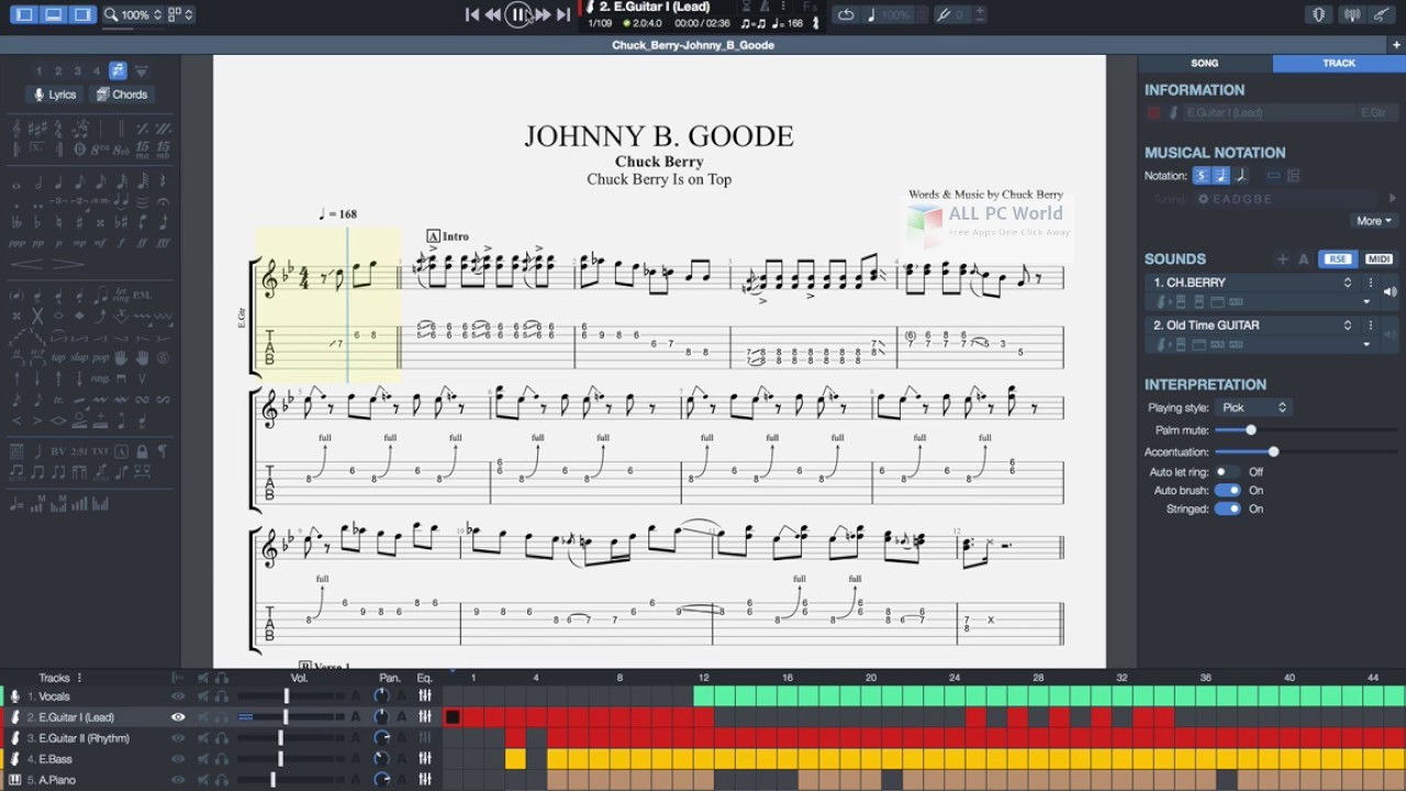 Download Guitar Pro 7 0 Free - ALL PC World