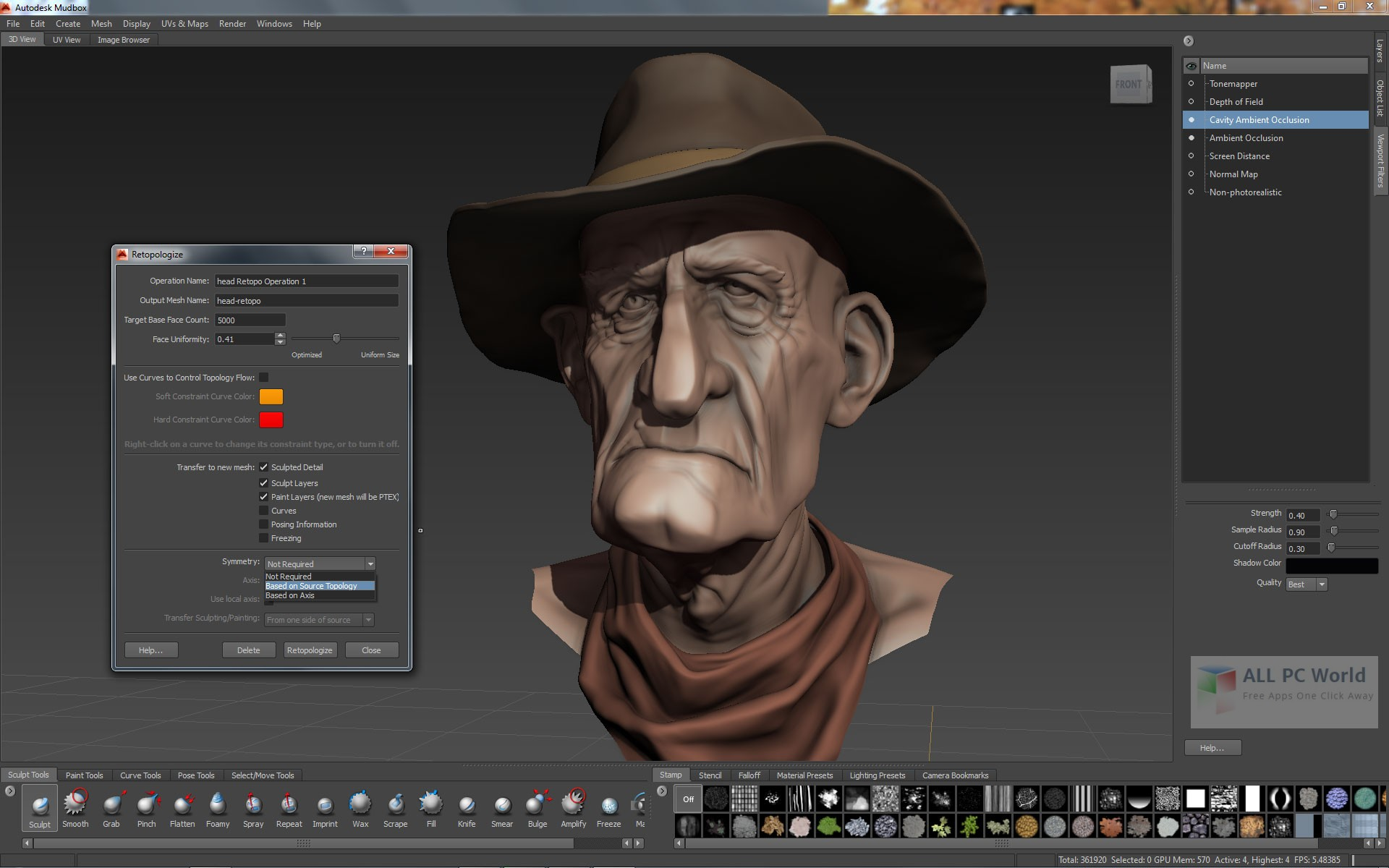 Download Autodesk Mudbox 2018 Free - ALL PC World