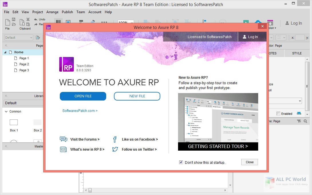 Download Axure RP 8.1 Free