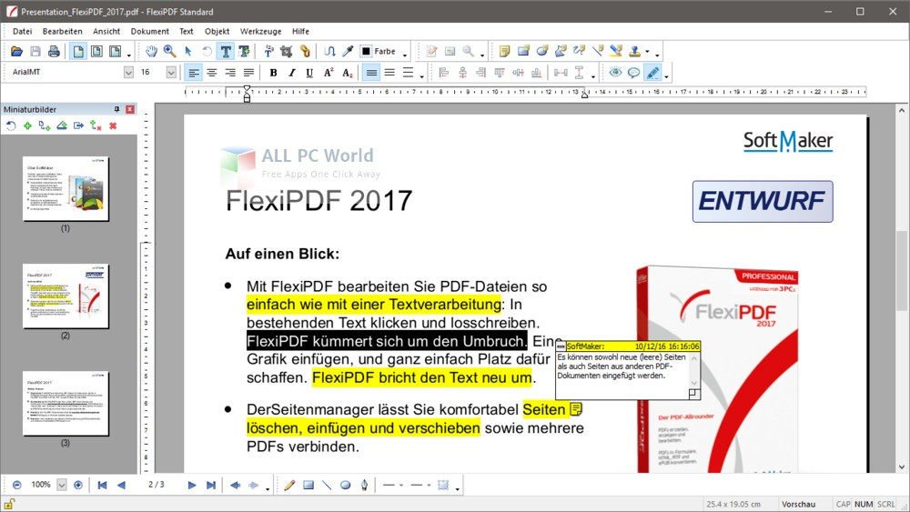 Download SoftMaker FlexiPDF Pro 2017 Free