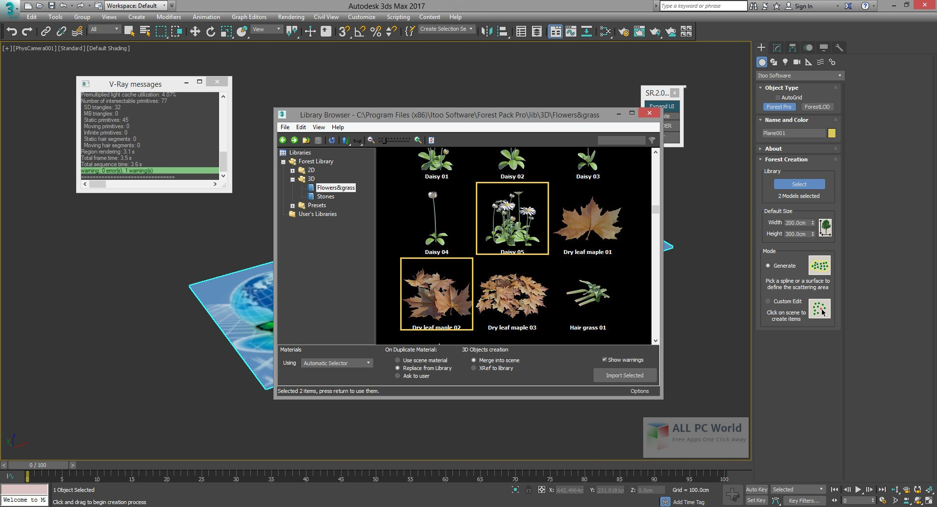 Download ForestPack Pro 5 4 1 for 3ds Max 2018 Free - ALL PC