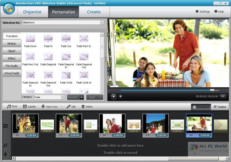 how to download wondershare dvd slideshow builder deluxe