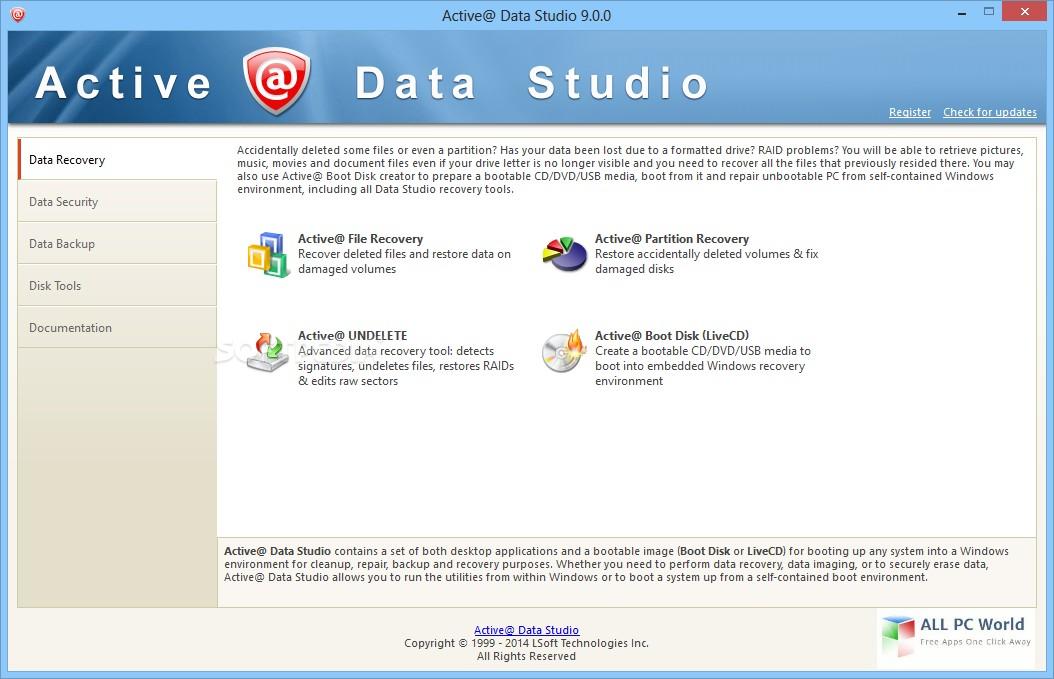Active@ Data Studio 13.0 Free Download