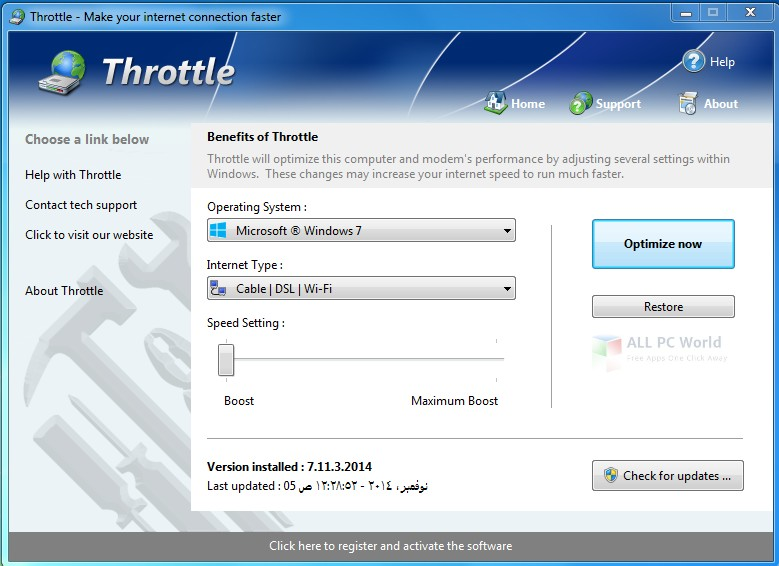 Download Throttle 8.6 Free
