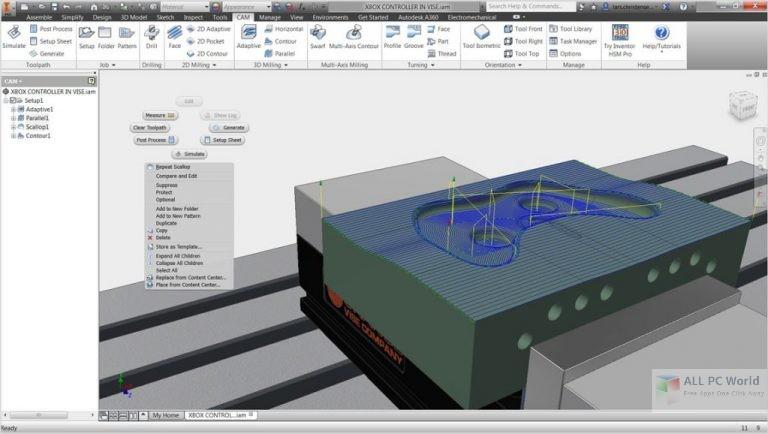 InventorCAM 2017 SP3 x64 Free Download
