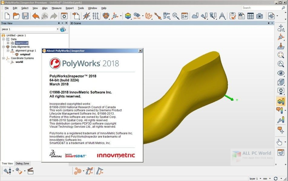 PolyWorks Metrology Suite 2018 Free Download