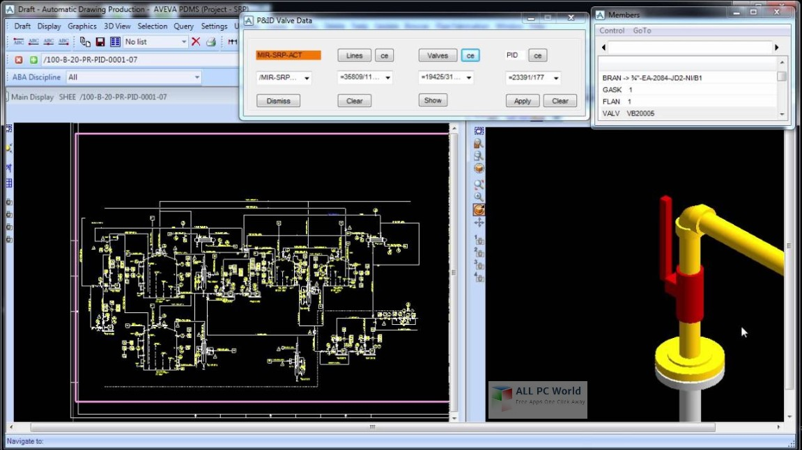 AVEVA PDMS 12.1 SP4 Free Download