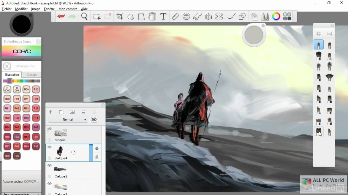 Autodesk SketchBook Pro for Enterprise 2019 Free Download - ALL PC World