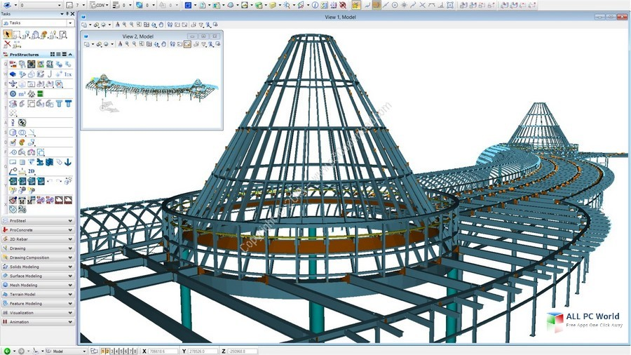 Bentley ProStructures CONNECT Edition 10.0 Free Download